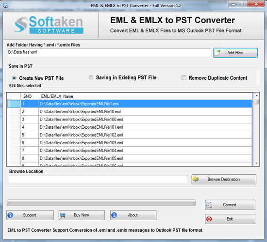 EML to Outlook Converter