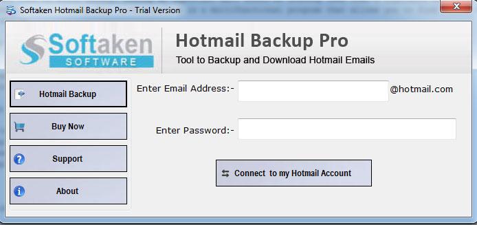Windows 7 Softaken Hotmail Backup Tool 1.0 full
